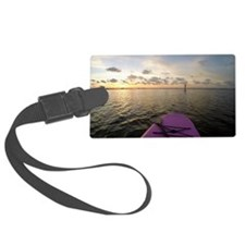 Paddle sunset Luggage Tag