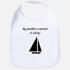 My Grandma Is Awesome At Sailing Bib