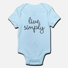 Live Simply Body Suit