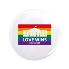 "Love Wins 3.5"" Button"