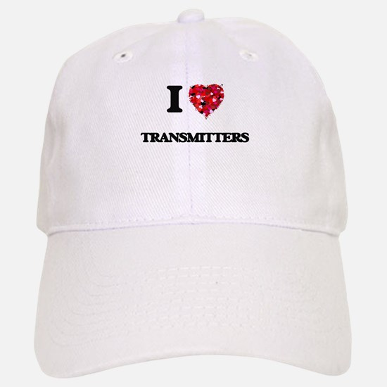 I love Transmitters Baseball Baseball Cap