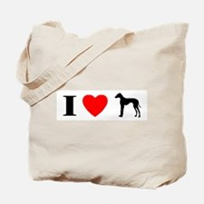 I Heart Azawakh Tote Bag