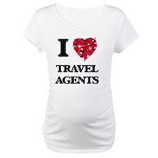 I love Travel Agents Shirt
