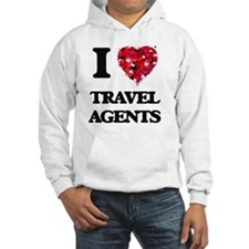 I love Travel Agents Hoodie