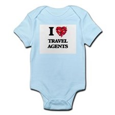 I love Travel Agents Body Suit