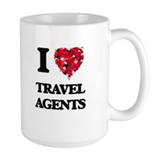 I love Travel Agents Mugs