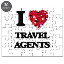 I love Travel Agents Puzzle