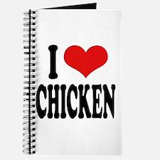 I Love Chicken Journal
