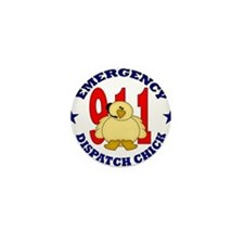 Dispatcher Chick Mini Button (10 pack)
