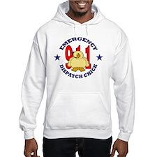 Dispatcher Chick Hoodie Sweatshirt