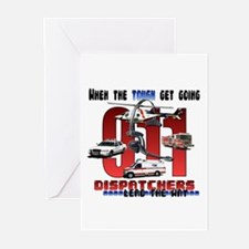 Dispatchers lead the way Greeting Cards (Package o