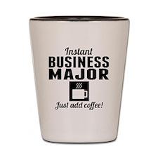 Instant Business Major Shot Glass