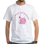 Mommy BB (Pink) White T-Shirt