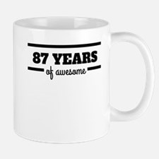 87 Years Of Awesome Mugs