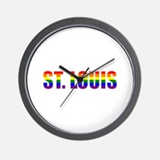 St. Louis Pride Wall Clock