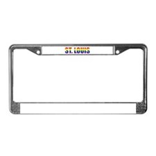 St. Louis Pride License Plate Frame