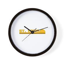 St. Louis, Missouri Wall Clock