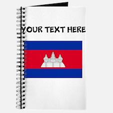 Custom Cambodia Flag Journal