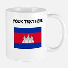 Custom Cambodia Flag Mugs