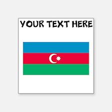 Custom Azerbaijan Flag Sticker