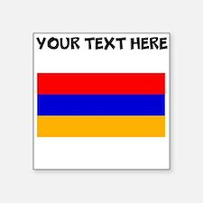 Custom Armenia Flag Sticker