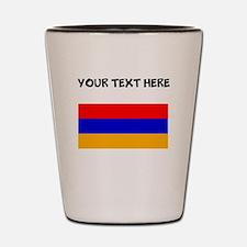 Custom Armenia Flag Shot Glass