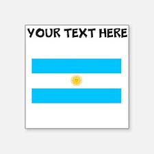 Custom Argentina Flag Sticker