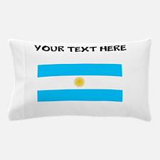 Custom Argentina Flag Pillow Case