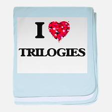 I love Trilogies baby blanket