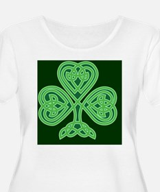 Celtic Shamrock - St Patricks Da Plus Size T-Shirt