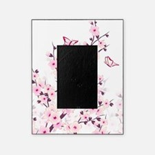 Cherry Blossoms And Butterflies Picture Frame