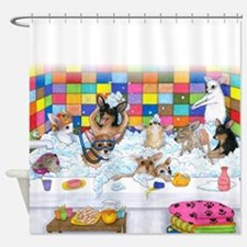 Dog 121 Shower Curtain