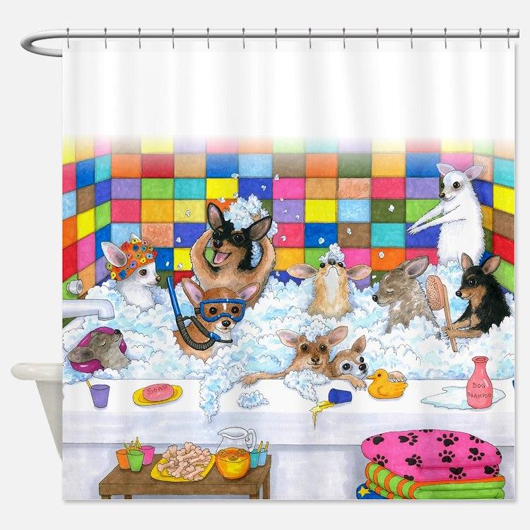Dog 121 Shower Curtain