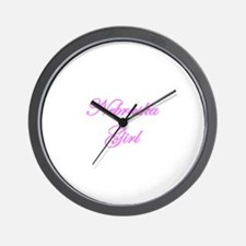 Nebraska Girl Wall Clock