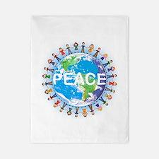 World Peace Twin Duvet