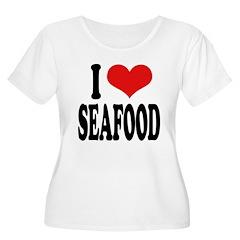 I Love Seafood T-Shirt