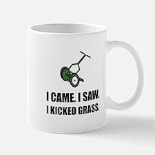 Came Saw Kicked Grass Mugs