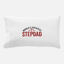 World's Greatest Stepdad Pillow Case