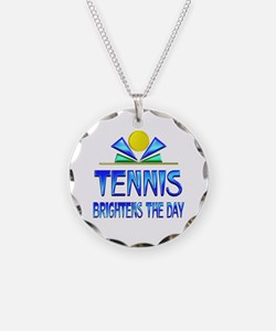 Tennis Brightens the Day Necklace