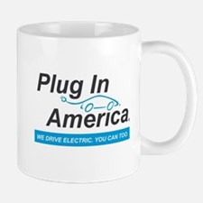 Plug In America Logo Mugs