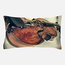 classic vintage violin Pillow Case