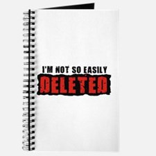 I'm Not So Easily Deleted Journal