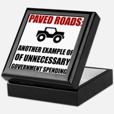 Paved Roads Keepsake Box