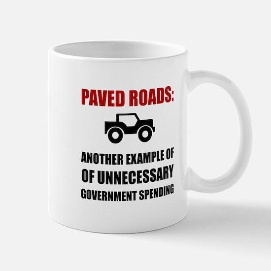 Paved Roads Mugs