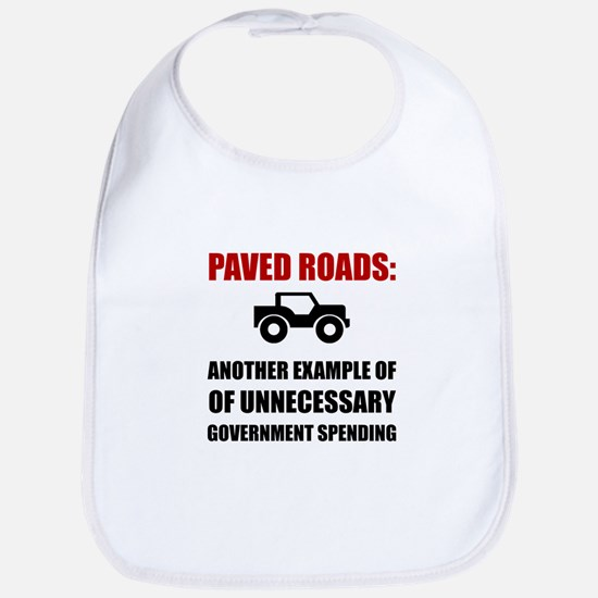 Paved Roads Bib
