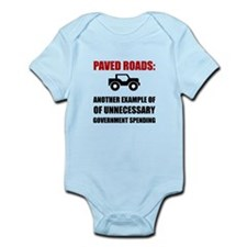 Paved Roads Body Suit