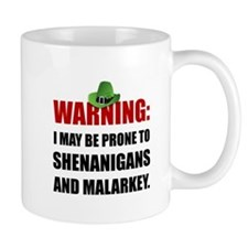 Shenanigans And Malarkey Mugs