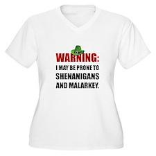 Shenanigans And Malarkey Plus Size T-Shirt