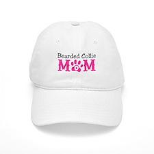 Bearded Collie Mom Baseball Baseball Cap