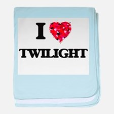 I love Twilight baby blanket